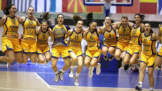 Romania Lead Charge Into Semis
